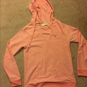 Hurley orange sweatshirt